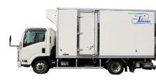 冷蔵・冷凍装置付きの特殊車両
